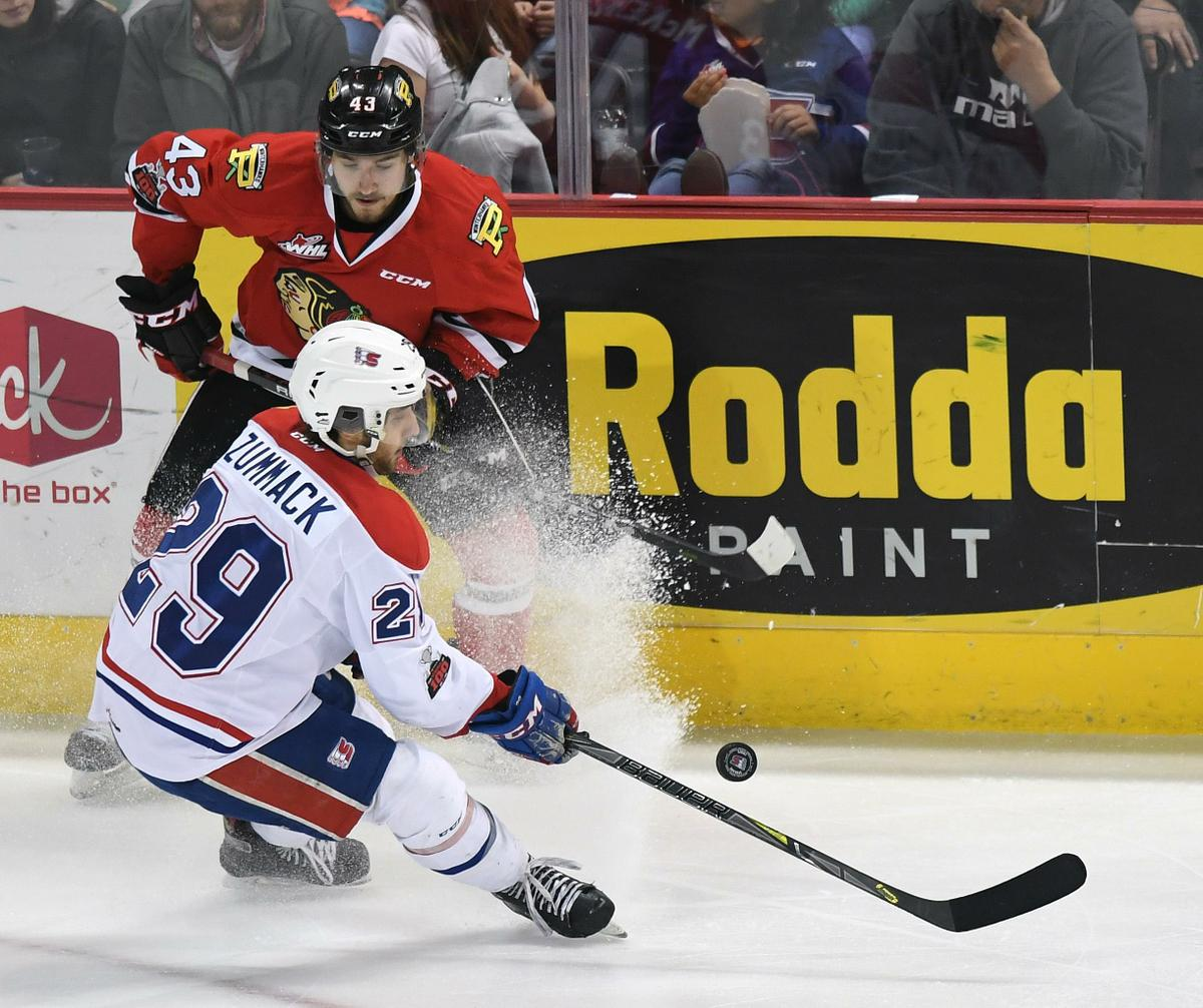 Portland Winterhawks vs. Spokane Chiefs at Moda Center