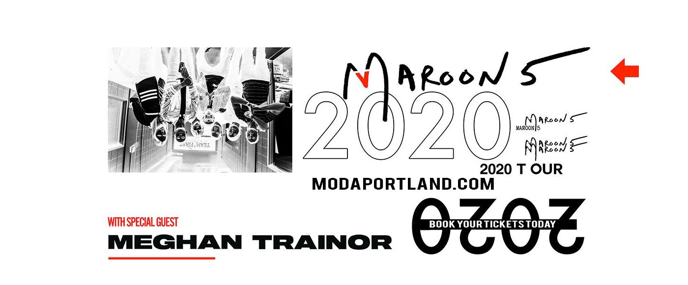 Maroon 5 & Meghan Trainor at Moda Center