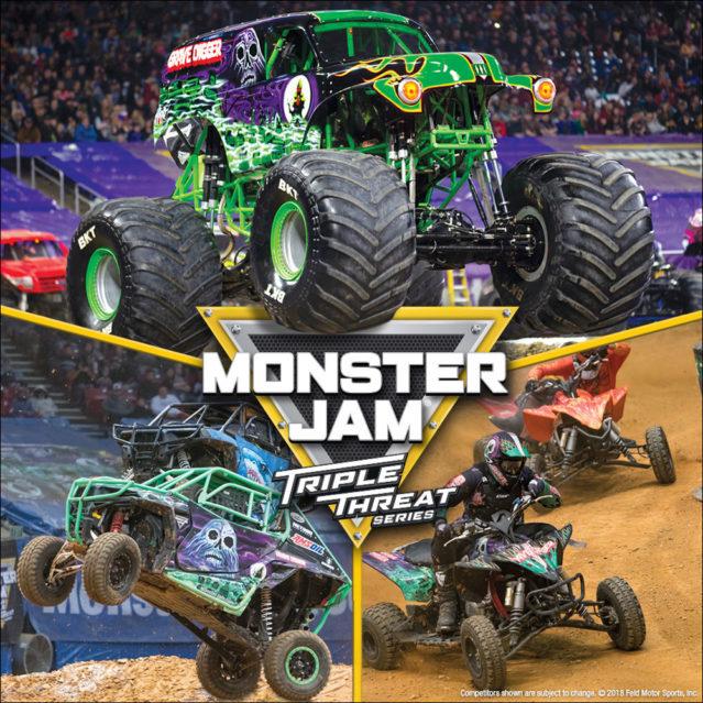 Monster Jam Triple Threat Series at Moda Center