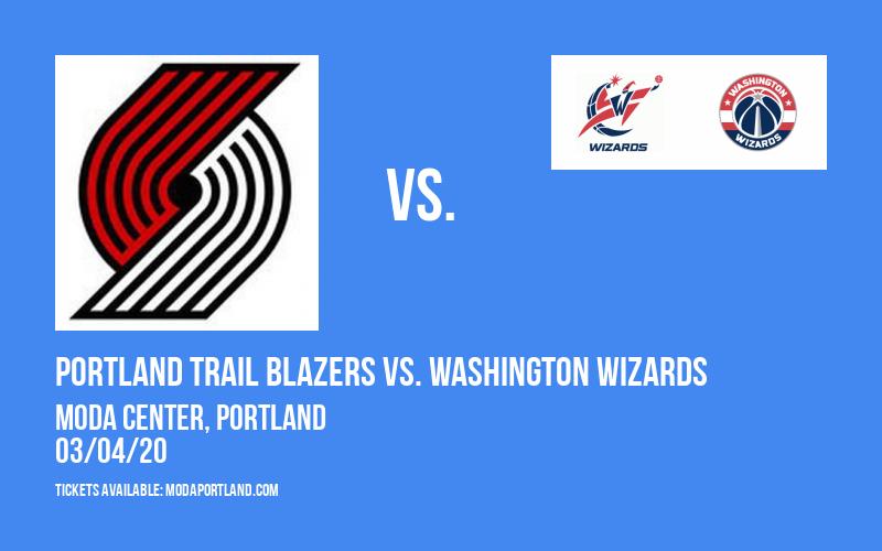 Portland Trail Blazers vs. Washington Wizards at Moda Center
