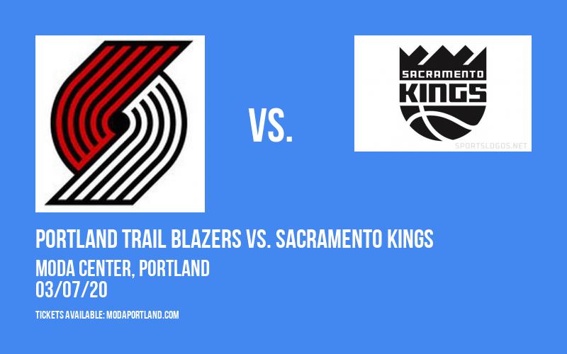 Portland Trail Blazers vs. Sacramento Kings at Moda Center