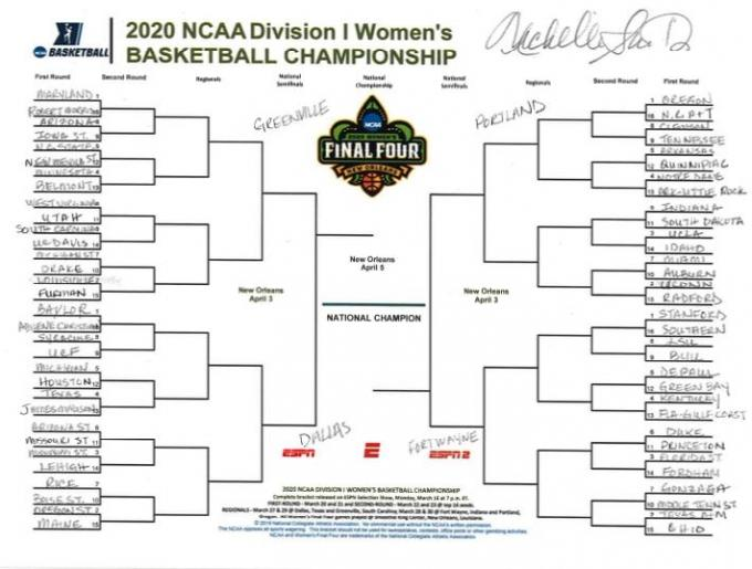 2020 NCAA Women's Basketball Tournament: Portland Regional - Session 1 (Time: TBD) at Moda Center