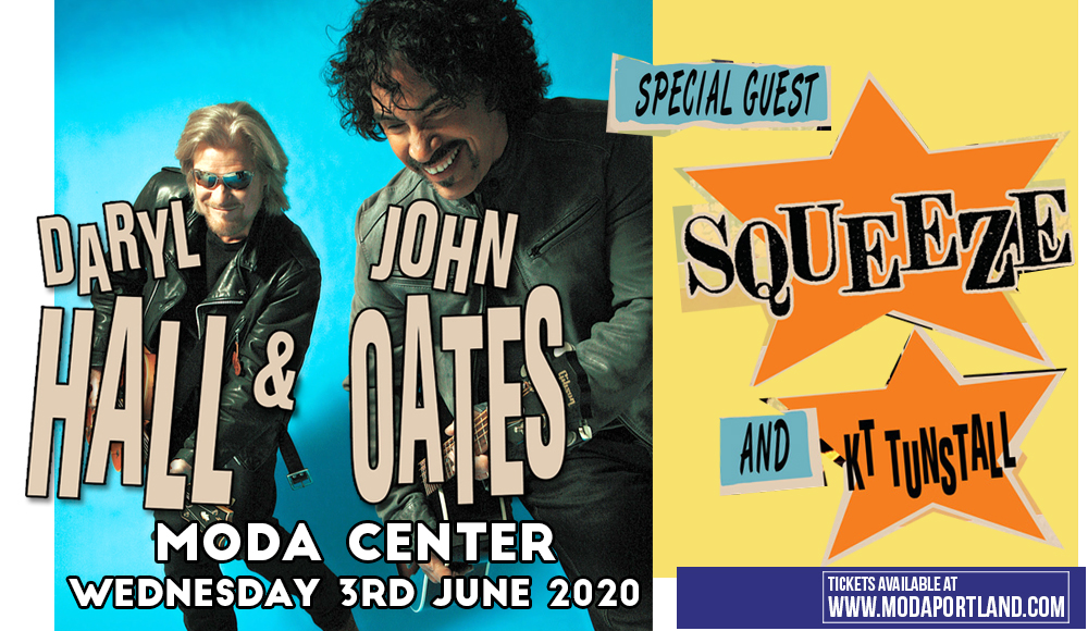 Hall and Oates, KT Tunstall & Squeeze [POSTPONED] at Moda Center