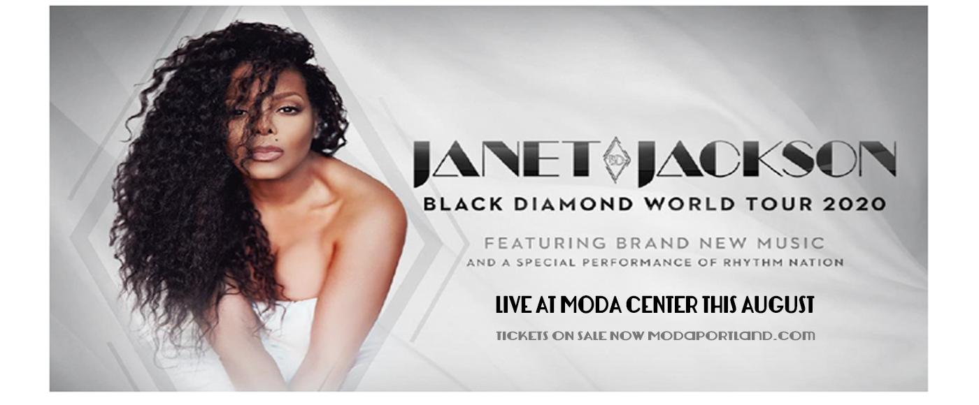 Janet Jackson [POSTPONED] at Moda Center