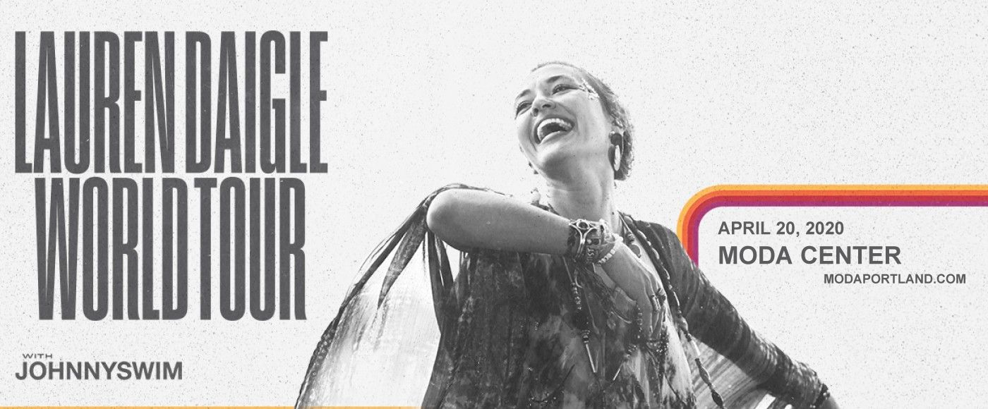 Lauren Daigle & Johnnyswim at Moda Center