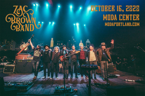 Zac Brown Band [CANCELLED] at Moda Center