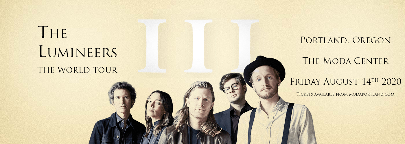 The Lumineers [POSTPONED] at Moda Center