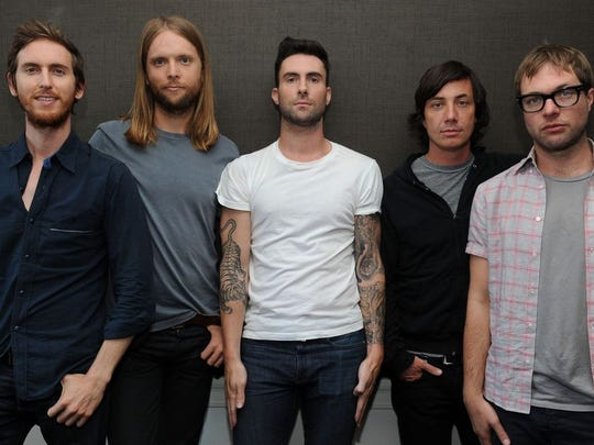 Maroon 5 & Meghan Trainor at Moda Center