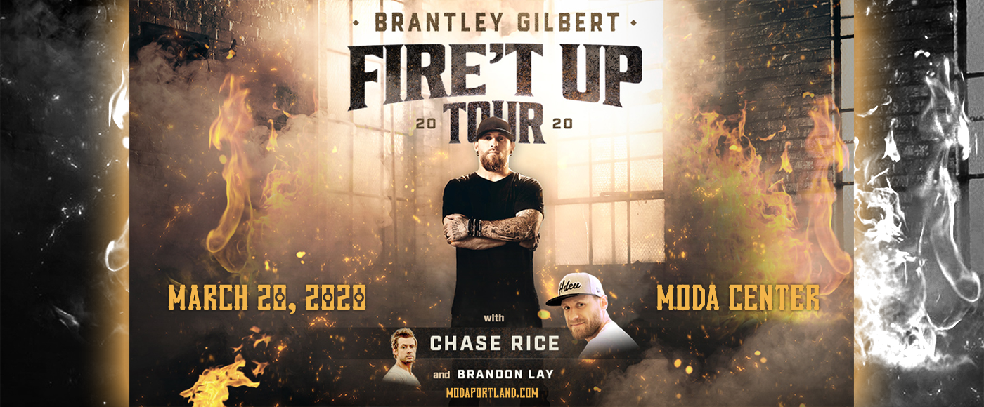 Brantley Gilbert at Moda Center