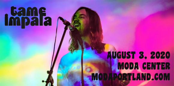 Tame Impala at Moda Center