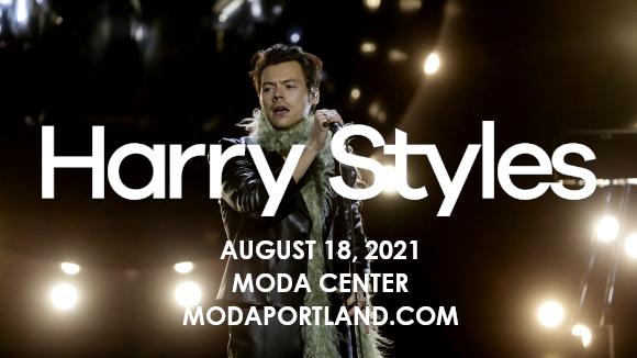 Harry Styles & Jenny Lewis at Moda Center