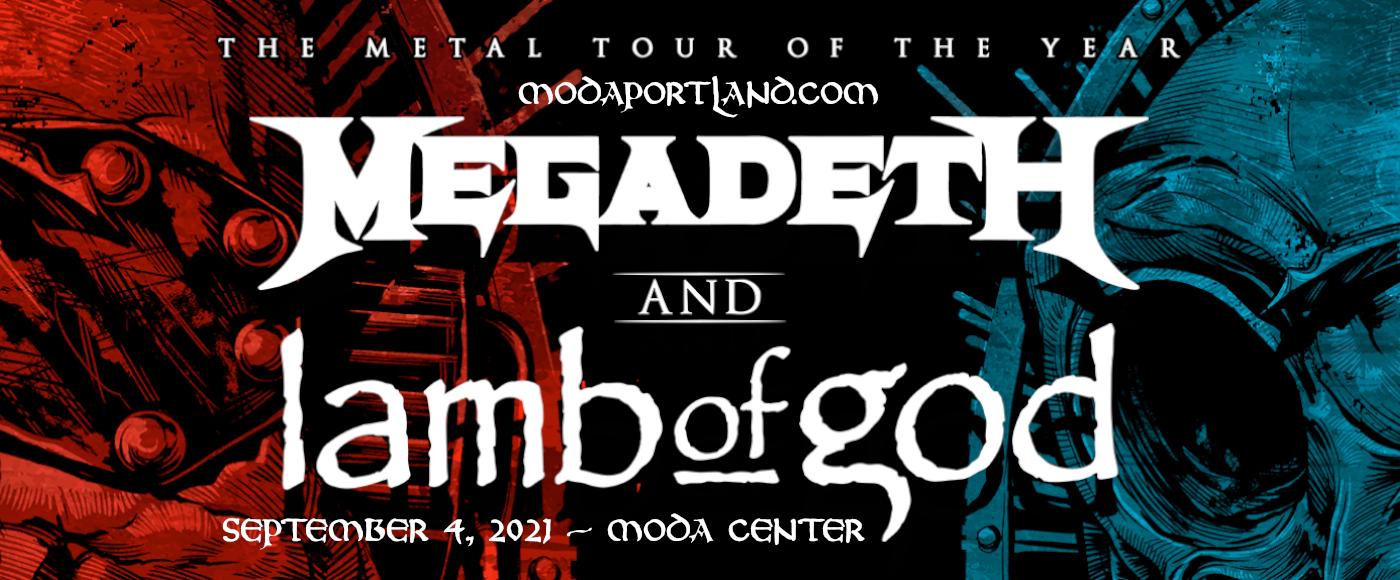 Megadeth & Lamb of God at Moda Center