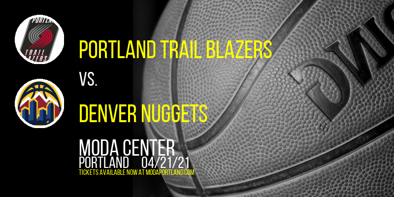 Portland Trail Blazers vs. Denver Nuggets [CANCELLED] at Moda Center