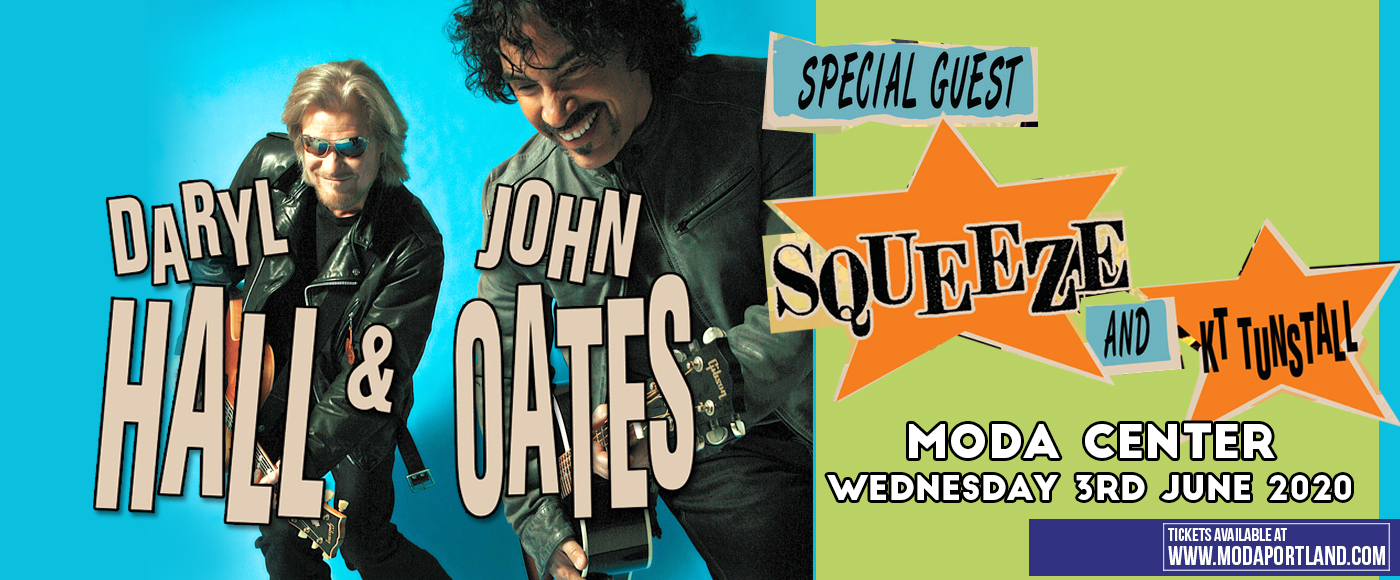 Hall and Oates, KT Tunstall & Squeeze [CANCELLED] at Moda Center