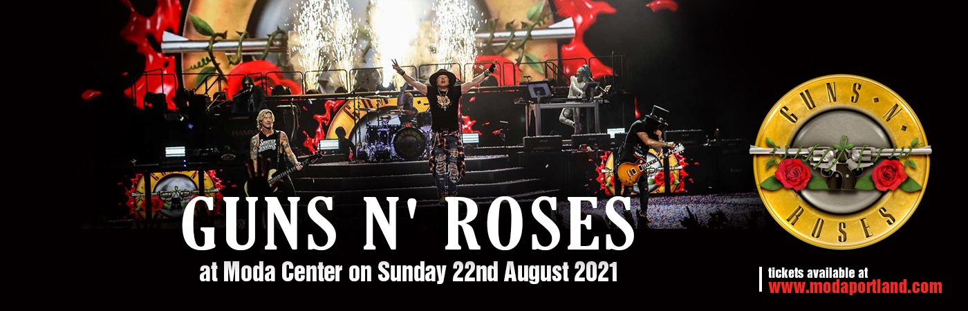 Guns N' Roses at Moda Center
