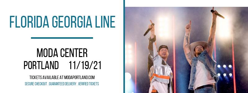 Florida Georgia Line at Moda Center