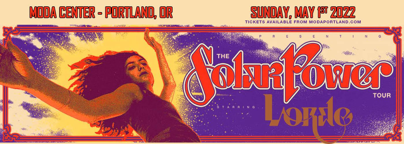 Lorde: Solar Power Tour at Moda Center