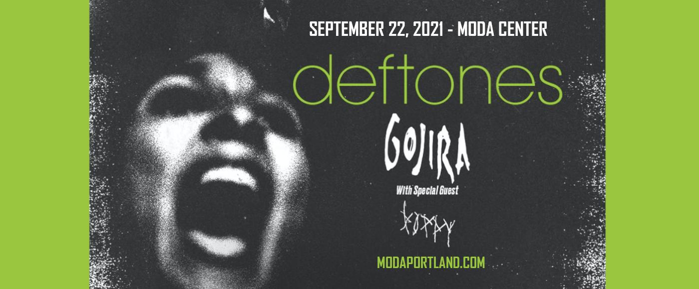 Deftones, Gojira & Poppy at Moda Center