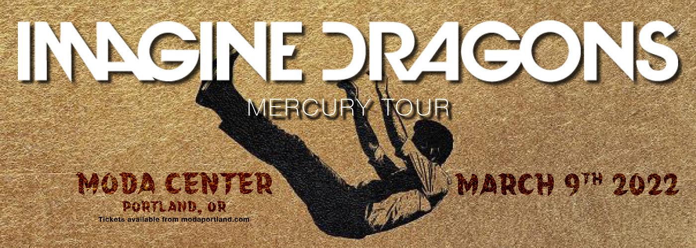 Imagine Dragons: Mercury Tour at Moda Center