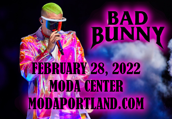 Bad Bunny at Moda Center