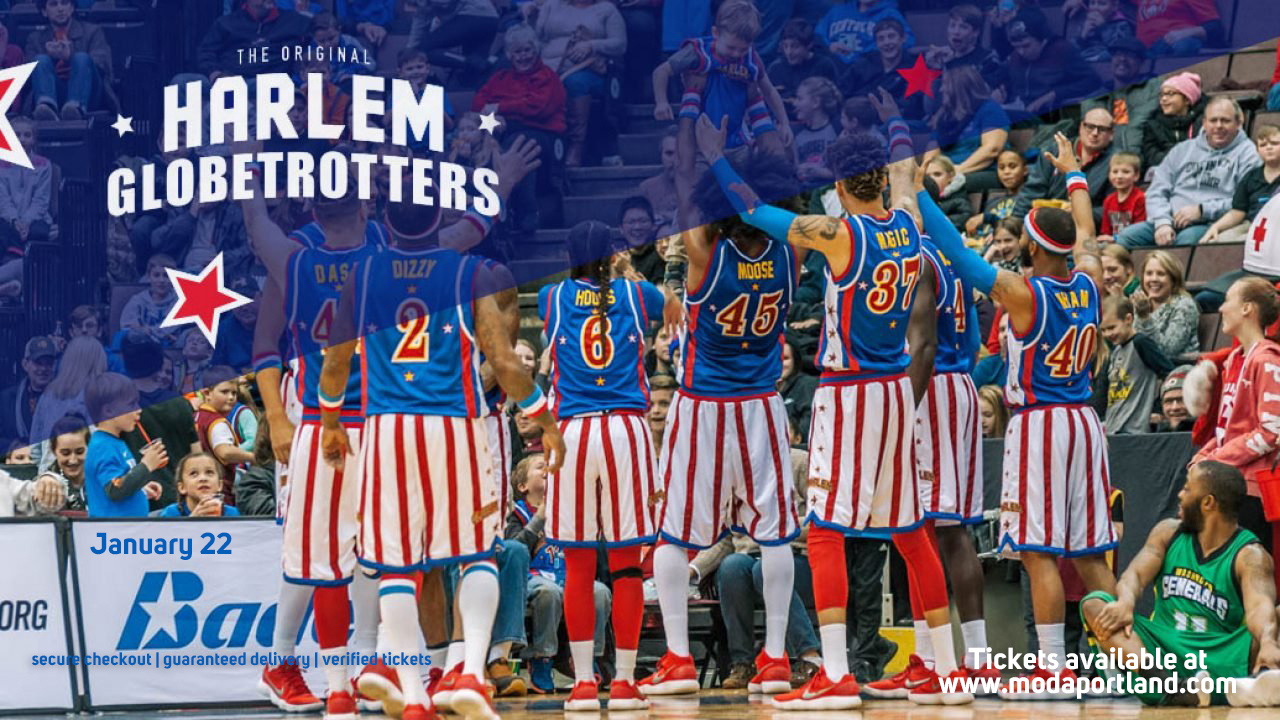 The Harlem Globetrotters at Moda Center