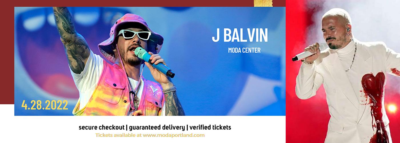 J Balvin at Moda Center