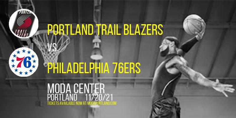 Portland Trail Blazers vs. Philadelphia 76ers at Moda Center