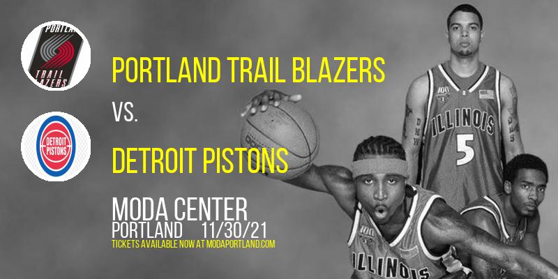 Portland Trail Blazers vs. Detroit Pistons at Moda Center
