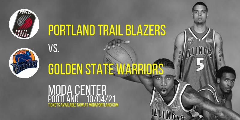 NBA Preseason: Portland Trail Blazers vs. Golden State Warriors at Moda Center