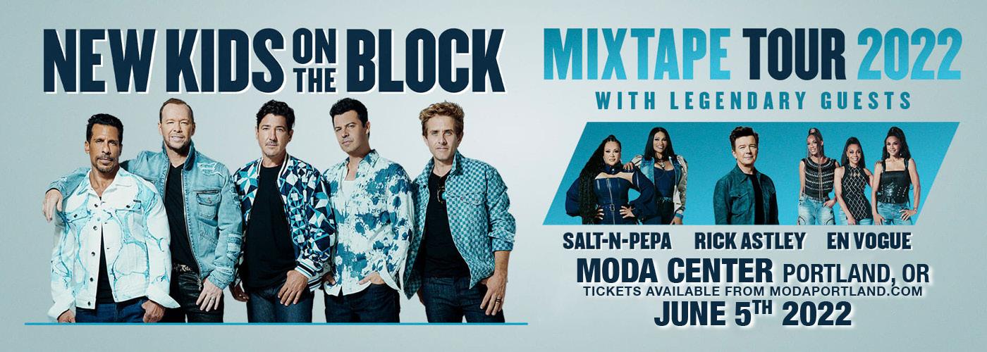 New Kids On The Block: MixTape Tour 2022 at Moda Center